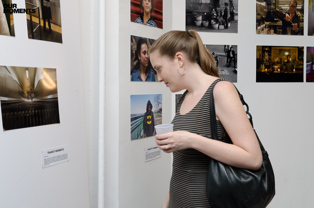 Moments, Final Project, Gallery Show, Not for profit, student photography, exhibition