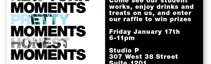 Moments Exhibition and Fundraiser – Friday, January 17th